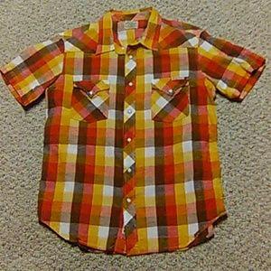 Men's Lucky Brand Western Shirt.